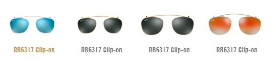 ray ban dioptrijski okviri 6317c clip on