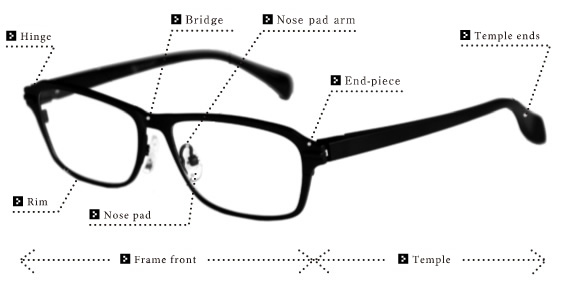 Parts Of Eyeglass Frames - Frame Design & Reviews ✓