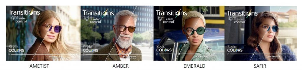 transitions colors